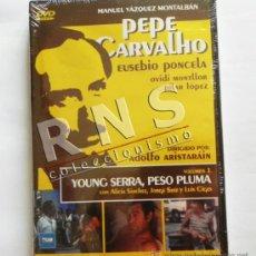Series de TV: PEPE CARVALHO 1 PESO PLUMA MANUEL VÁZQUEZ MONTALBÁN DVD PRECINTADO SUSPENSE SERIE DE TV PONCELA SANZ. Lote 37093805