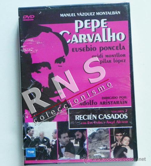 DVD PEPE CARVALHO 7 SERIE DE TELEVISIÓN DETECTIVE RECIÉN CASADOS SUSPENSE VÁZQUEZ MONTALBÁN PONCELA (Series TV en DVD)
