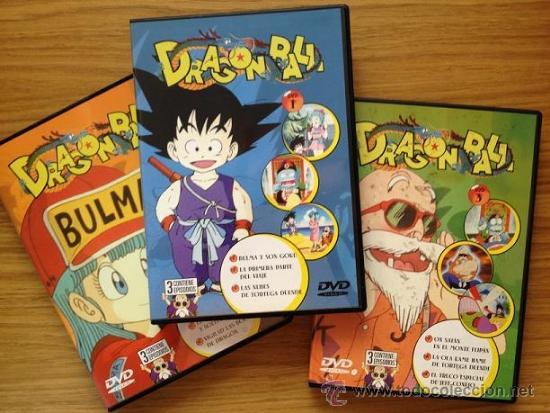 DRAGON BALL DVDS SALVAT (Series TV en DVD)