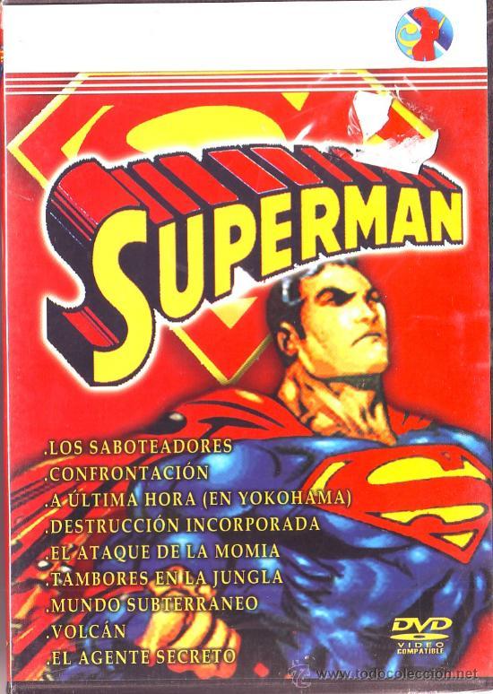 UXD SUPERMAN DVD USA DOBLADA AL ESPAÑOL 60 MINUTOS 9 CAPITULOS DIBUJOS ANIMADOS SUPERHEROE (Series TV en DVD)