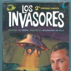 Series de TV: LOS INVASORES - 1967-1968 - 2ª TEMPORADA COMPLETA - PACK 7 DVD + LIBRETO 56 PÁGINAS (PRECINTADO). Lote 39033357
