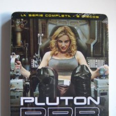 Series de TV: ALEX DE LA IGLESIA PLUTÓN BRB NERO SERIE COMPLETA 6 DVD, 26 EPID.803 MIN +EXTRAS PRECINTADO METÁLICA. Lote 39092880