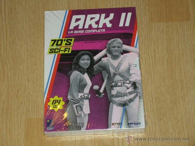 ARK II SERIE COMPLETA 4 DVD 330 MIN. NUEVA PRECINTADA (Series TV en DVD)