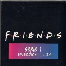 Series de TV: FRIENDS - SERIE 1 EPISODIOS 1 AL 24. 4 DVDS. PACK DE CARTON. WARNER 2000. Lote 40430717