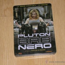 Cine: PLUTON BRB NERO SERIE COMPLETA 6 DVD DE ALEX DE LA IGLESIA 26 EPISODIOS 803 MIN. + EXTRAS NUEVO. Lote 126070454