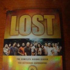 Series de TV: LOST 2 TEMPORADA DVD. Lote 40739022