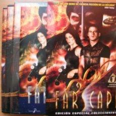 Cine: FARSCAPE TEMPORADA 1 EDICION ESPECIAL COLECCIONISTA DVD NUEVO SCI FI INCLUYE LIBRETO. Lote 95787884