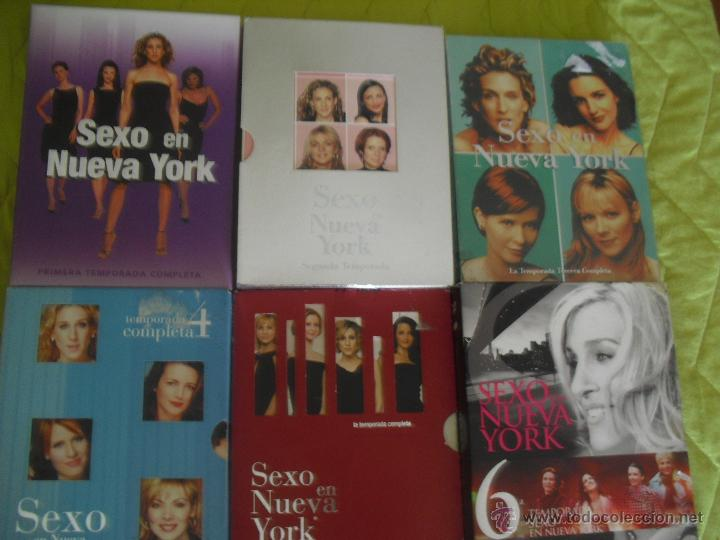 SEXO EN NUEVA YORK COMPLETA DVD TEMPORADA 1 2 3 4 5 Y 6 - SEX AND THE CITY (Series TV en DVD)