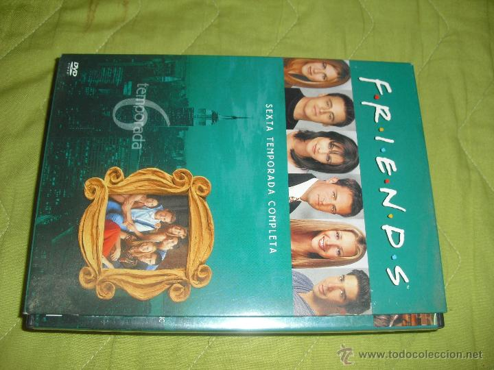 FRIENDS SERIE DE TV TEMPORADA 6 - DVD COMPLETA (Series TV en DVD)