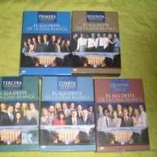 Series de TV: EL ALA OESTE DE LA CASA BLANCA - WEST WING DVD'S - TEMPORADAS 1 2 3 4 Y 5 - AARON SORKIN. Lote 41363745