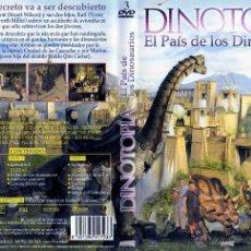 Series de TV: DVD ORIGINAL * DINOTOPÍA * (SERIE TV/3 DISCOS). 1ª EDICIÓN. DESCATALOGADO. PRECINTADO. MUY RARO.. Lote 25990207