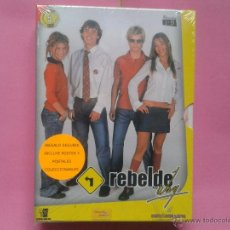 Series de TV: REBELDE WAY EPISODIOS 1 -19 DIGIPACK 5 DVDS.- NUEVO-PRECINTADO. Lote 170086756