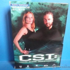 Series de TV: CSI 5ª QUINTA TEMPORADA EPISODIOS 5.1 A 5.13. Lote 42697437