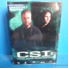 Cine: CSI 5ª QUINTA TEMPORADA EPISODIOS 5.14 A 5.25. Lote 42697475