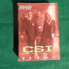 Series de TV: CSI 2ª SEGUNDA TEMPORADA 13 - 23 . Lote 43380283