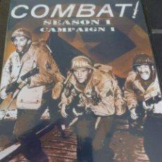 Cine: DVD SERIES TV-COMBAT (HAZAÑAS BELICAS) T1 V1-4 DVD`S Y 16 CAPITULOS CASTELLANO-FOTOS. Lote 43502180