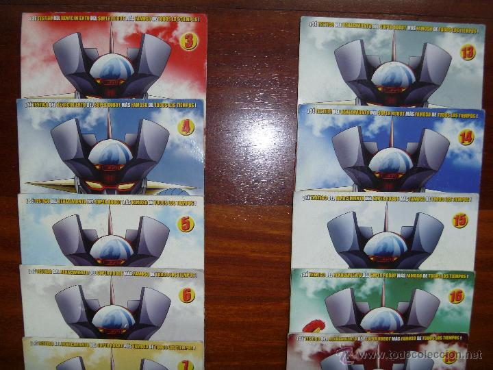Series de TV: Mazinger Z coleccion 19 DVD - Foto 2 - 43598203