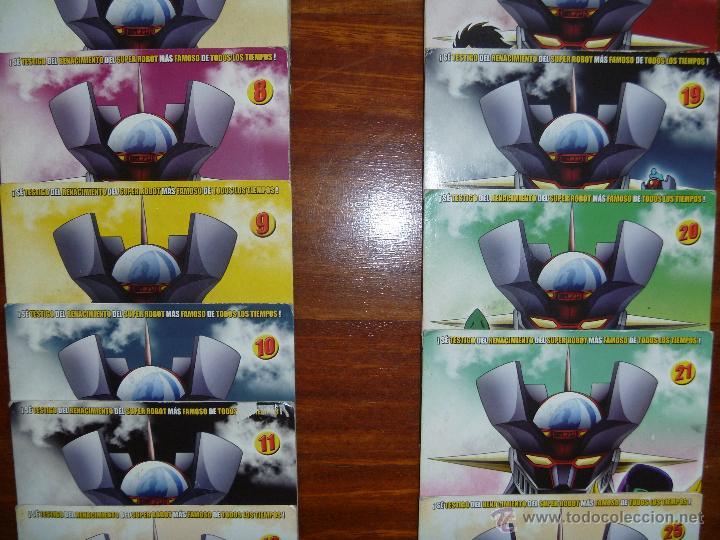 Series de TV: Mazinger Z coleccion 19 DVD - Foto 3 - 43598203