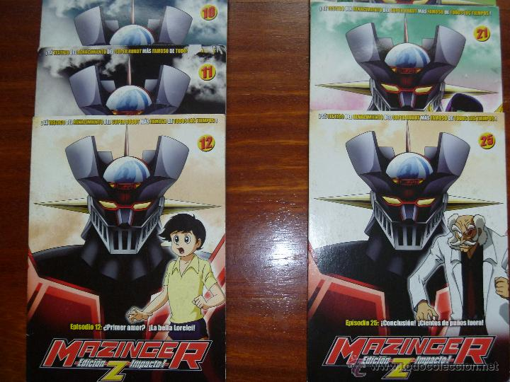 Series de TV: Mazinger Z coleccion 19 DVD - Foto 4 - 43598203