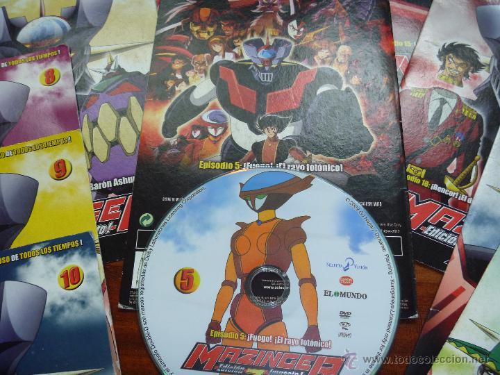 Series de TV: Mazinger Z coleccion 19 DVD - Foto 5 - 43598203