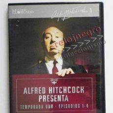 Series de TV: ALFRED HITCHCOCK PRESENTA - TEMPORADA 1 EPISODIOS 1 A 4 - DVD MISTERIO SUSPENSE TERROR - SERIE DE TV. Lote 43628280