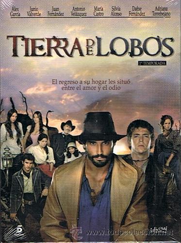 DVD TIERRA DE LOBOS 1A.TEMPORADA ÁLEX GARCÍA 5 DVD´S (PRECINTADO) (Series TV en DVD)