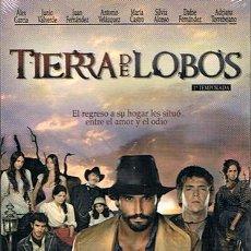 Series de TV: DVD TIERRA DE LOBOS 1A.TEMPORADA ÁLEX GARCÍA 5 DVD´S (PRECINTADO). Lote 43636599