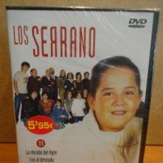 Series de TV: LOS SERRANO Nº 11. 1ª TEMPORADA. LA MIRADA DEL TIGRE / EVA AL DESNUDO. PRECINTADO.. Lote 43902133