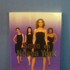 Cine: DVD VIDEO TV SERIE – SEXO EN NUEVA YORK SEX AND THE CITY PRIMERA TEMPORADA • SARAH JESSICA PARKER. Lote 44111910