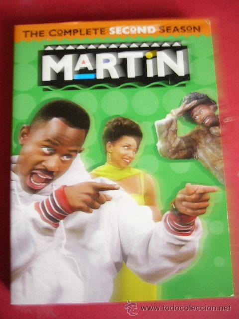 THE COMPLETE SECOND SEASON. MARTIN. 4 DVD (Series TV en DVD)