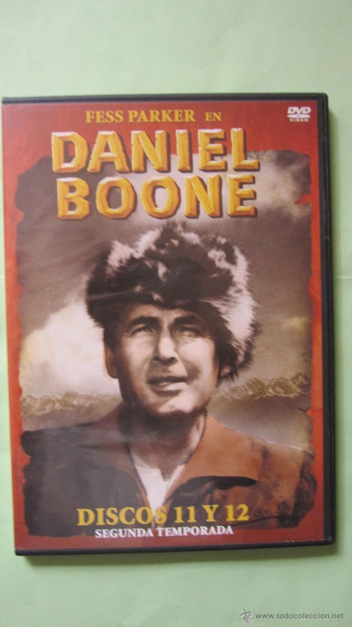 EL ORIGINAL DANIEL BOONE .DISCOS Nº11 Y 12 . 8 EPISODIOS. EL QUE SE VIO EN LA TELE (Series TV en DVD)