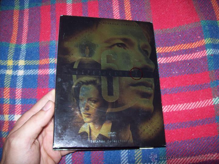 Series de TV: EXPEDIENTE X ,SEXTA TEMPORADA COMPLETA.EDICIÓN COLECCIONISTAS.2003.UNA JOYITA.VER FOTOS. - Foto 2 - 45475325