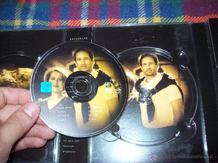 Series de TV: EXPEDIENTE X ,SEXTA TEMPORADA COMPLETA.EDICIÓN COLECCIONISTAS.2003.UNA JOYITA.VER FOTOS. - Foto 6 - 45475325
