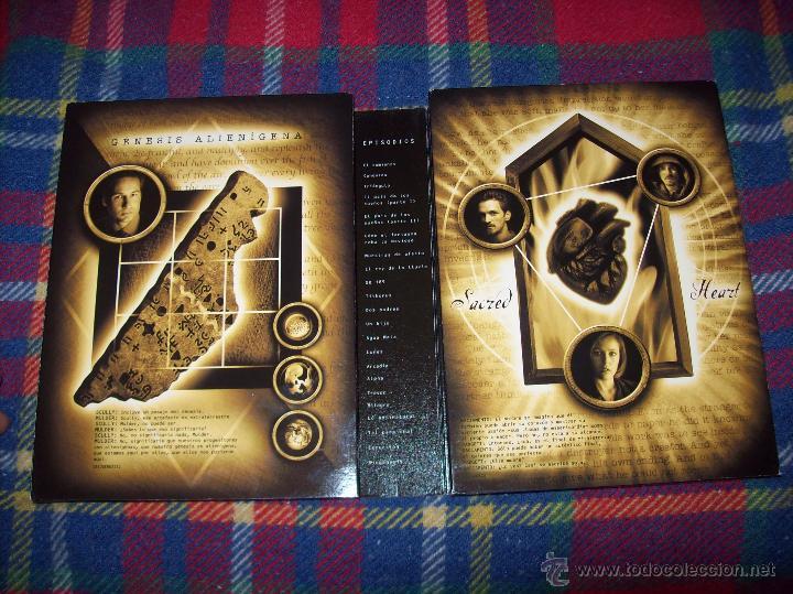 Series de TV: EXPEDIENTE X ,SEXTA TEMPORADA COMPLETA.EDICIÓN COLECCIONISTAS.2003.UNA JOYITA.VER FOTOS. - Foto 12 - 45475325