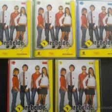 Series de TV: DVD - REBELDE WAY - 1ª TEMPORADA (EPISODIOS 01 - 19) 5 DVDS.**COMO NUEVOS***. Lote 45642979