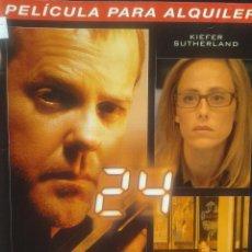 Series de TV: 24 - QUINTA TEMPORADA VOLUMEN 2 EPISODIOS 3-4 ** KIEFER SUTHERLAND**** DESCATALOGADA ***. Lote 45958134