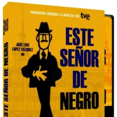 Cine: ESTE SEÑOR DE NEGRO DE ANTONIO MERCERO Y MINGOTE CON LÓPEZ VAZQUEZ. 2 DVD.SERIE COMPLETA. PRECINTADO. Lote 52418364