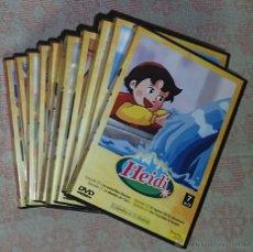 Series de TV: DVD HEIDI: LOTE DE 9 DVDS - A FALTA DE 4 PARA COMPLETAR. Lote 156516296