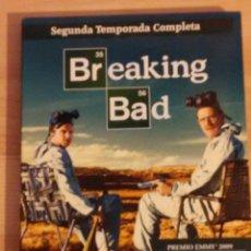Series de TV: SERIE - BREAKING BAD - SEGUNDA TEMPORADA COMPLETA MUY BUEN ESTADO. Lote 46779338