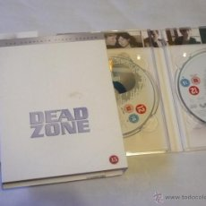 Series de TV: THE DEAD ZONE ( STEPHEN KING ) TEMPORADA 1 DVD SERIE AUDIO Y SUBTITULOS EN INGLES. Lote 47252982