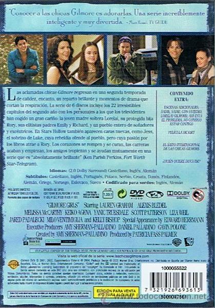 Series de TV: LAS CHICAS GILMORE SEGUNDA TEMPORADA COMPLETA (6 DISCOS) - Foto 2 - 47344712