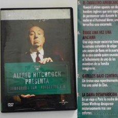 Series de TV: ALFRED HITCHCOCK PRESENTA - TEMPORADA 1 EPISODIOS 5 A 8 - DVD MISTERIO SUSPENSE TERROR - SERIE DE TV. Lote 47885890