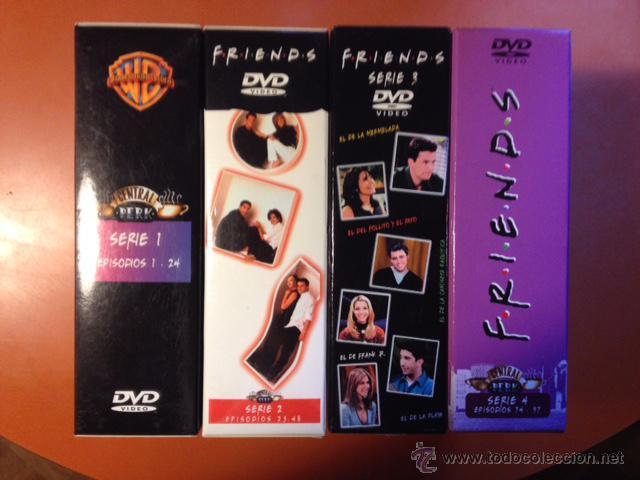 FRIENDS. TEMPORADAS 2, 3 Y 4 (Series TV en DVD)