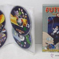 Cine: FUTURAMA 4 DVD SEGUNDA TEMPOPRADA COMPLETA. Lote 48198781