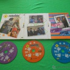 Series de TV: REBELDE WAY - 3 DVD - EPISODIOS DEL 80 AL 91. Lote 170223188