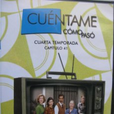 Series de TV: CUÉNTAME CÓMO PASÓ. CUARTA TEMPORADA. CAPÍTULO 41- DVD VIDEO.. Lote 48383530
