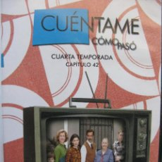 Series de TV: CUÉNTAME CÓMO PASÓ. CUARTA TEMPORADA. CAPÍTULO 42 - DVD VIDEO.. Lote 48383556