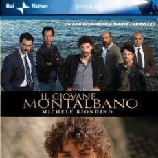 Series de TV: DVD SERIES TV- EL JOVEN MONTALBANO 1ª TEMPORADA CAPITULO 4- HERIDO DE MUERTE. Lote 60449943