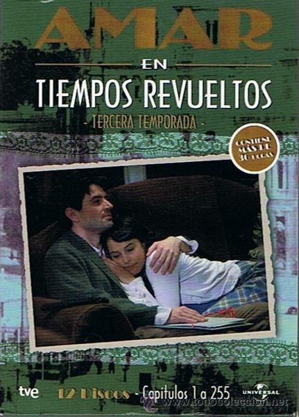 amar en tiempos revueltos 12 discos 3ª tempor - Comprar Series de TV ...