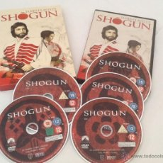 Cine: PACK DVD SHOGUN. Lote 48692920